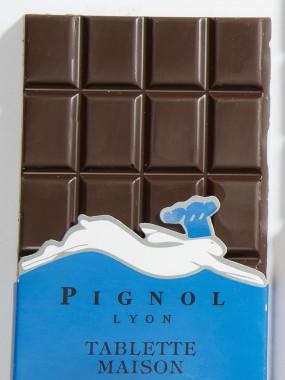 DEUX TABLETTES CHOCOLAT NOIR